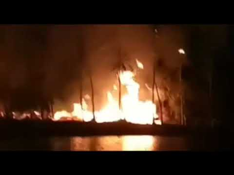 Massive Blaze Occurred At Indira Park Hyderabad, Telangana | Overseas News