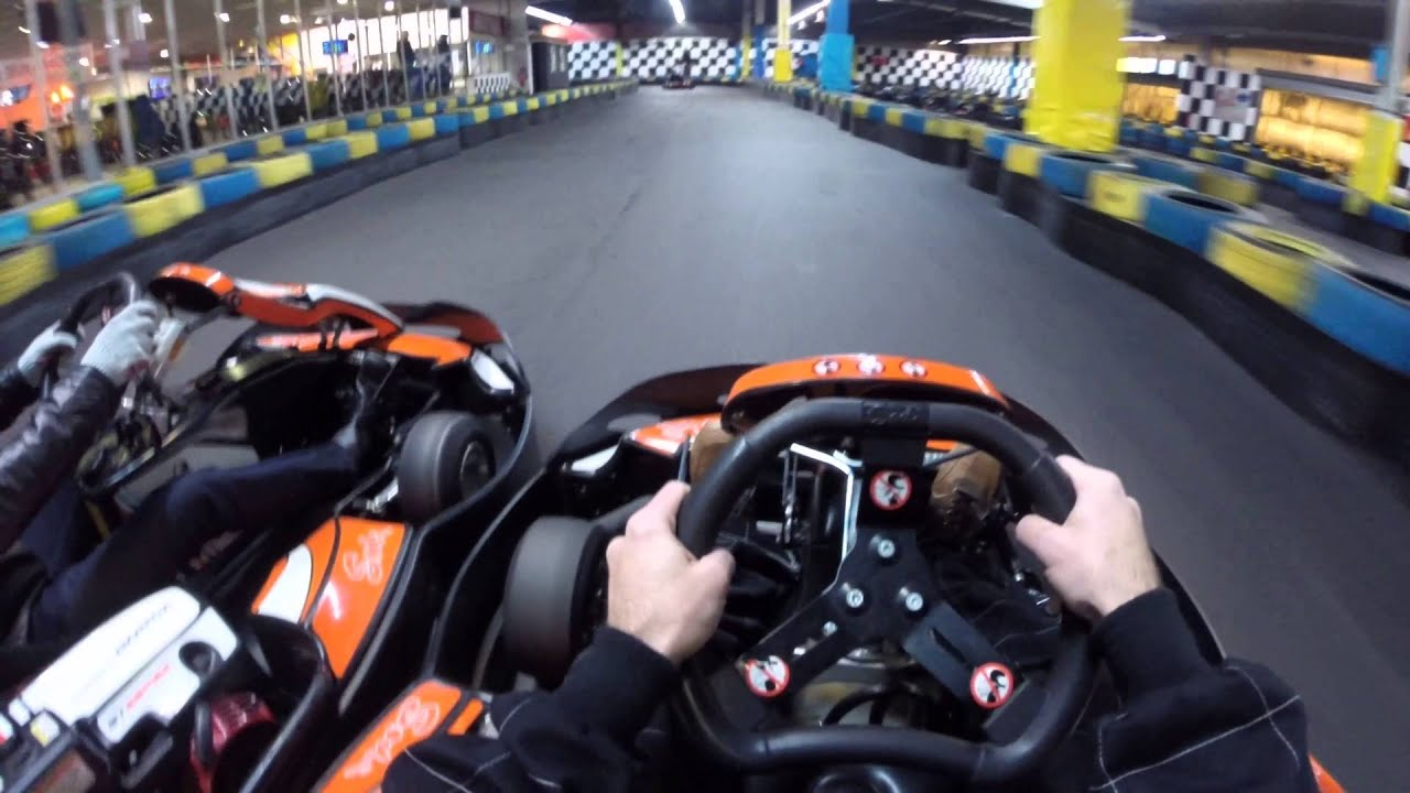 karting d griff carrelage la zac d 39 augny youtube