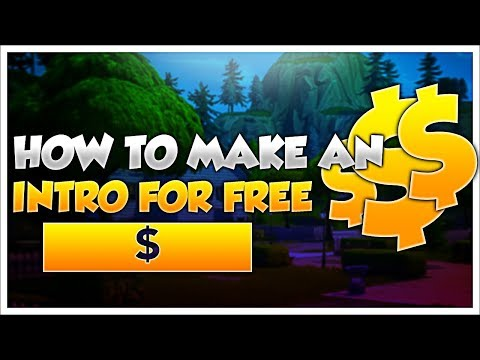 How To Make An Intro For Free! (WITHOUT PANZOID)