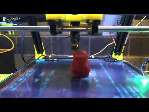 Mendel MAx printing