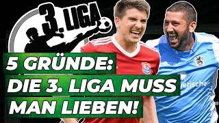 3. Liga: Die coolste Profi-Liga Deutschlands!  5 Gründe