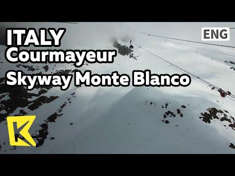 【K】Italy Travel-Courmayeur[이탈리아 여행-쿠르마외르]케이블카를 타고 보는 알프스 산맥/Skyway Monte Blanco/Alps/Cable car