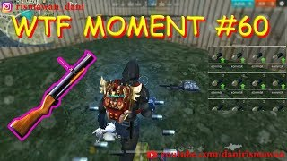 WTF MOMENT (60) FREE FIRE BATTLEGROUND