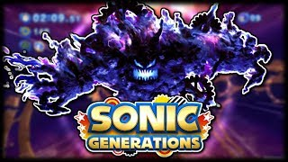 Sonic Generations FINALE (Egg Dragoon Boss & Time Eater Boss)
