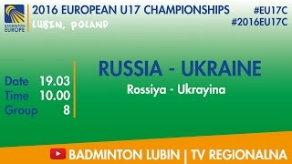 #2016EU17C Lubin - group 8 - RUSSIA - UKRAINE(, 2016-03-19T14:05:24.000Z)