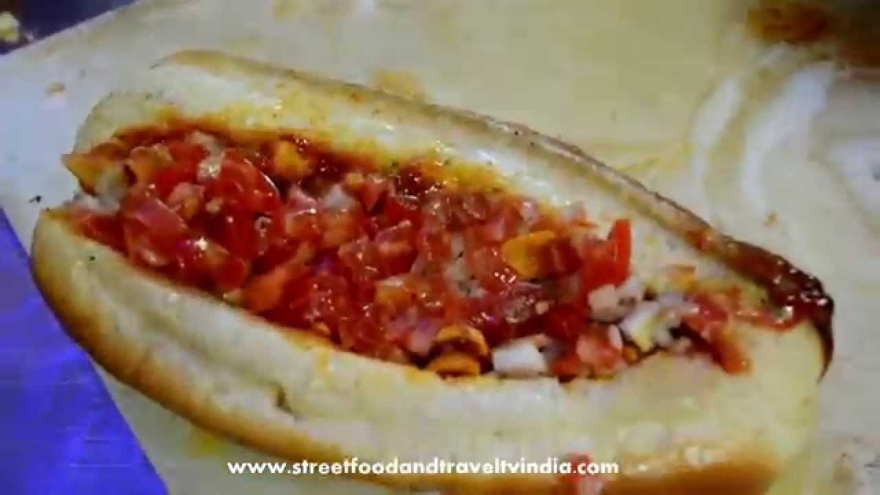 Hot Dog Egg Roll Street Food