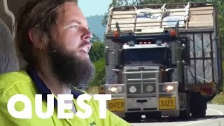 Video How To Move A Whole House On The Back Of A Truck | Outback Truckers download MP3, 3GP, MP4, WEBM, AVI, FLV Juni 2018