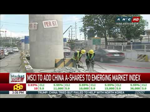 MSCI to China A-shares to emerging market index