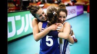 Femminili 2018: che partita, che emozione, la Nazionale in semifinale!