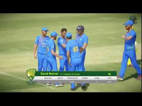 Aus VS INDIA Match in Don Bradman Cricket 2017 - Live stream Test