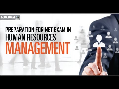 Preparation for NET Exam in Human Resource Management(MBA)