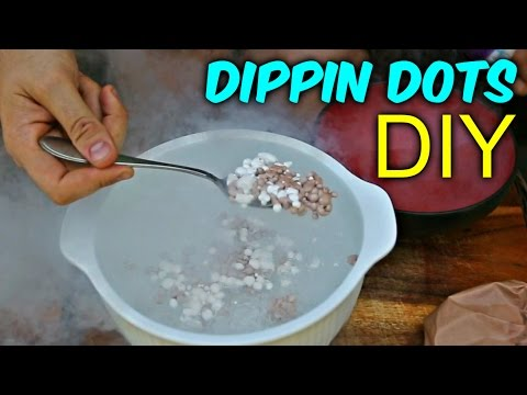 How To Make Dippin Dots With Liquid Nitrogen