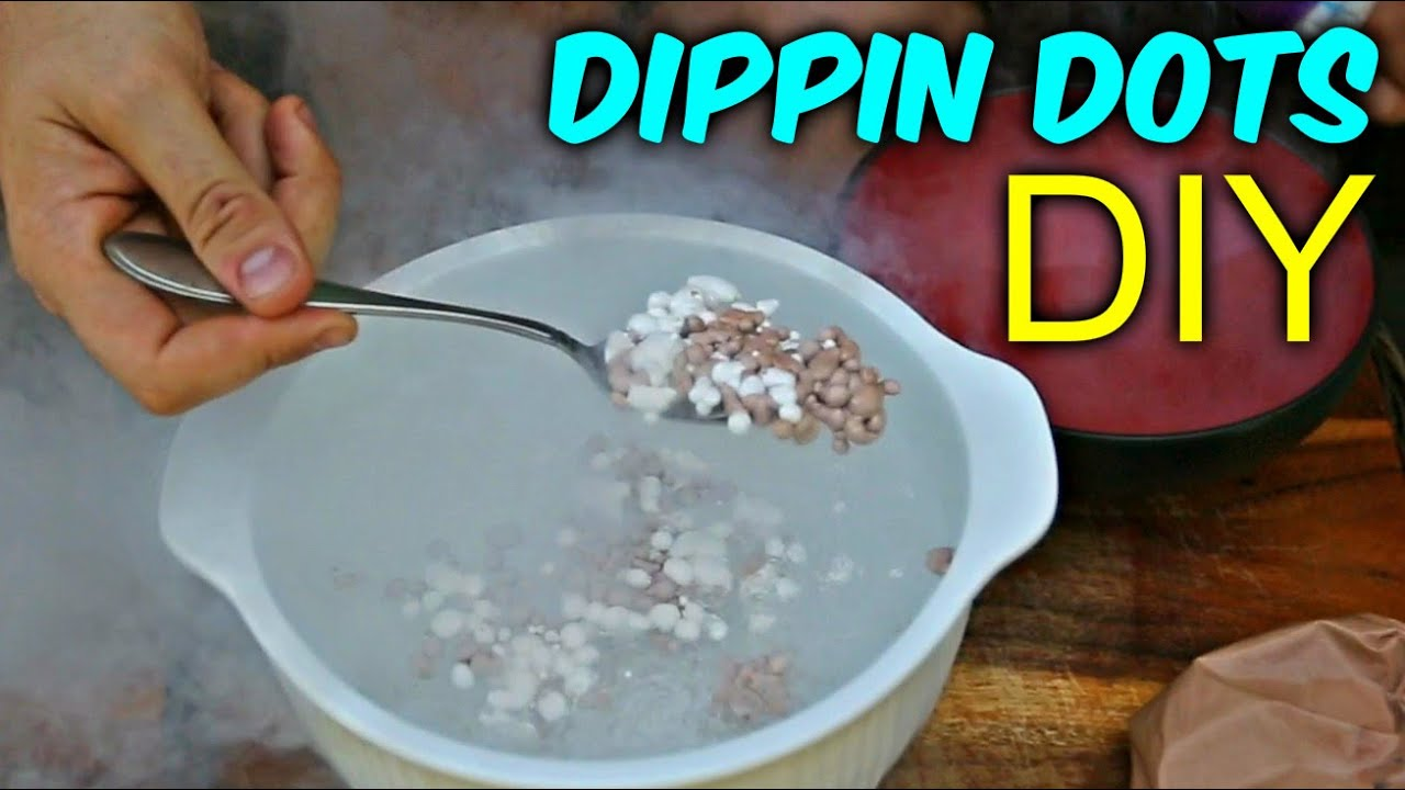 How were dippin dots invented