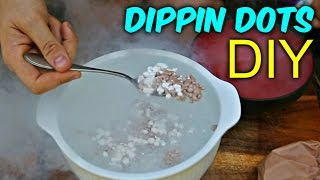 "How to Make ""Dippin Dots"" with Liquid Nitrogen?"