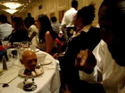 Jacoby Jones discusses DeMeco Ryans bobblehead doll