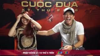 cuoc dua ky thu 2016 - chang 10 - chia tay doi cam