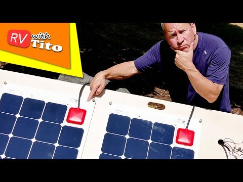 SOLAR Panel with Built-In MPPT Controller : Solbian ALLinONE