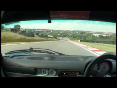 High revving Lotus Exige with modified Honda K24 ITB dry sump wide body @ Kyalami