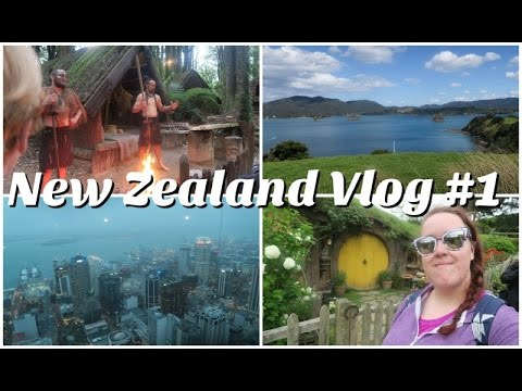 New Zealand Vlog #1...Hobbiton, Auckland & Bay of Islands
