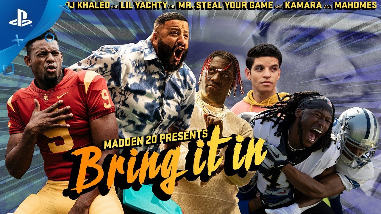 Madden NFL 20 — Bring It In: Trailer de lansare