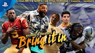 Madden NFL 20 – Bring It In: Launch Trailer | PS4