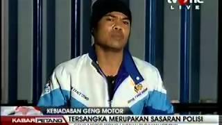 Jakarta, (tvOne) Fenomena geng motor mulai kembali terjadi di beber...