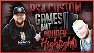 🎮 PS4 CUSTOM GAMES HIGHLIGHTS - Mit meinem Bruder als Gast 👨‍🦰| Fortnite Battle Royale
