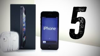 Apple iPhone 5 Unboxing (New iPhone 5 Unboxing & Overview) [Launch Day iPhone 5 Unboxing]