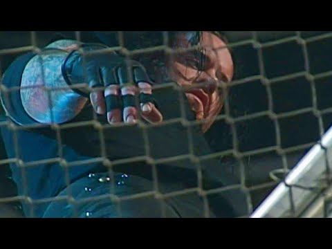 The Undertaker recalls throwing Mankind from the top of Hell in a Cell on WWE Untold (WWE Network)