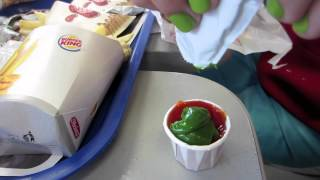 Repeat youtube video GREEN KETCHUP!