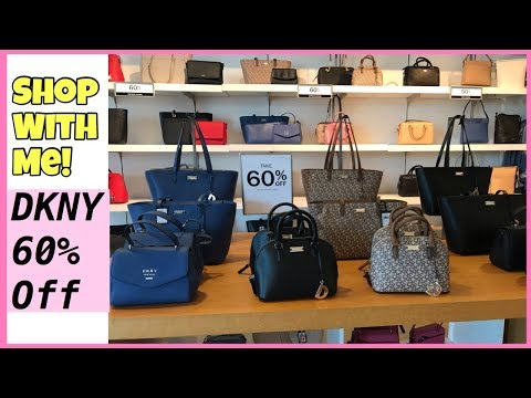 DKNY PREMIUM OUTLET STORE SALES HANDBAG TAKE 60% OFF | CLOTHES | DISPLAY 2019 | Janice R.