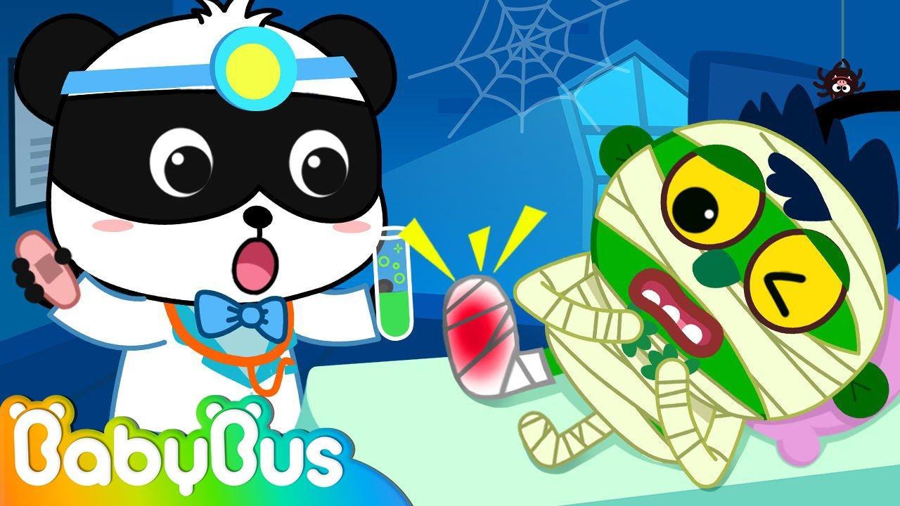 Halloween Spooky Hospital | Kids Halloween Song | Nursery Rhymes | Kids Songs | BabyBus