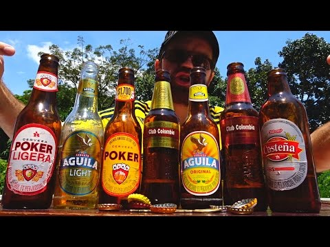 Tasting Colombian Beers Review