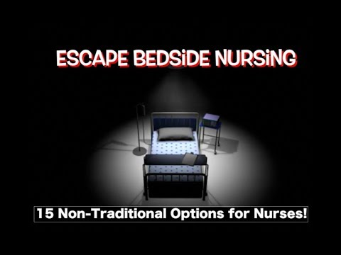 Nursing Beyond The Bedside I Non-clinical Jobs, Corporate Nursing Jobs Even Jobs For Ex Nurses!