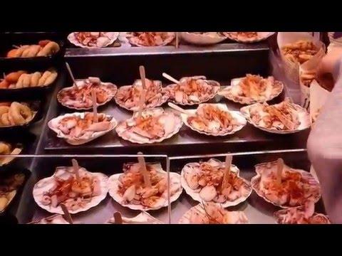 Mercado De  La Boqueria, Las Ramblas Barcelona. España