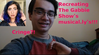 Recreating The Gabbie Show's musical.ly's!!!