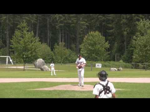 North Shore Twins vs. Victoria Mariners in BC Premier League baseball