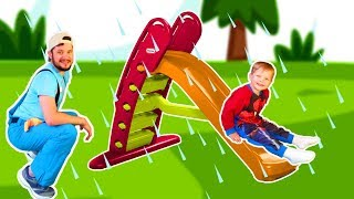 Rain Rain Go Away Song #19 | Mirik Yarik Nursery Rhymes & Kids Songs
