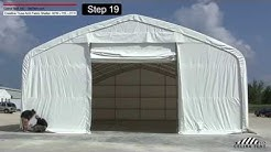 40'x70' Crestline Truss Arch Shelter- Installation Procedure