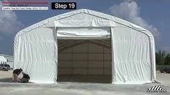 40'x70' Crestline Truss Arch Shelter- Installation Procedure