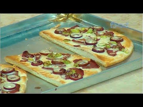 طريقه عمل الجبنه الموزريلا في المنزل - بيتزا سريعه الشيف #نونا من برنامج #البلدى_يوكل #فوود
