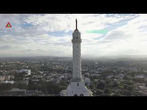 MONUMENTO SANTIAGO DE LOS CABALLEROS REPUBLICA DOMINICANA CON MI MAVIC PRO