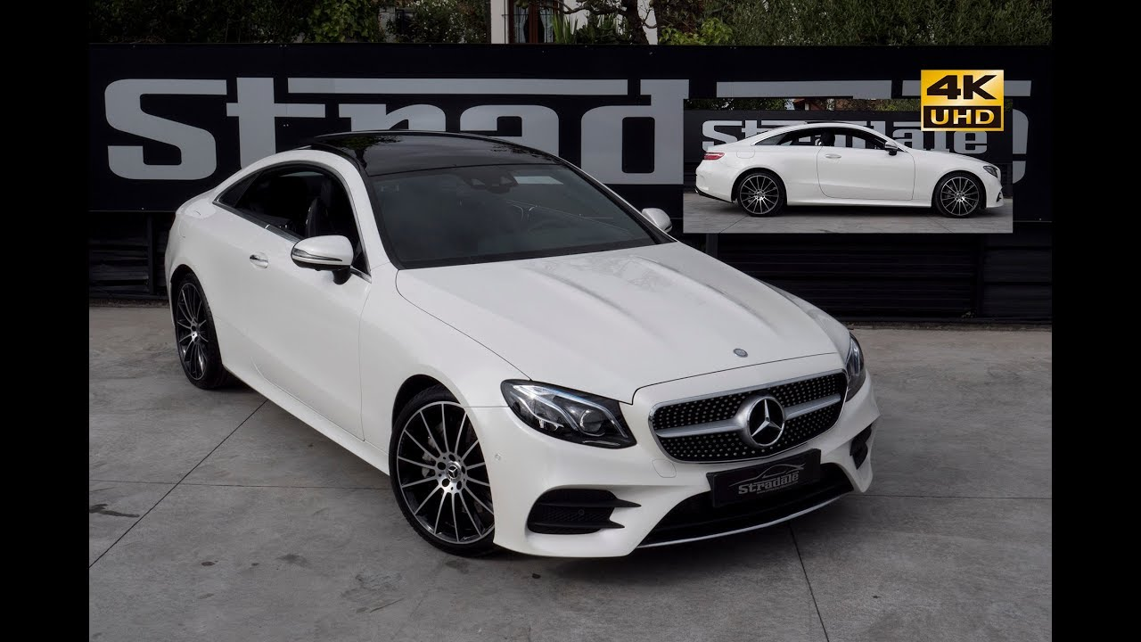 Mercedes e300 coupe amg 2017 stradale motors 4k hd for Mercedes benz e300 amg