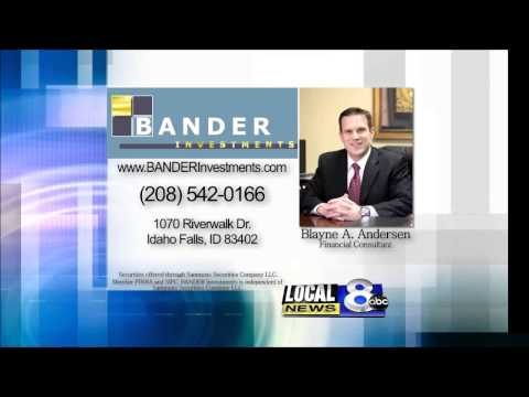BANDER Investments Channel 8 News sponsor for Idaho Falls and East Idaho.