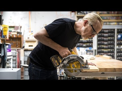 Adam Savage's One Day Builds: Cave Bathroom Upgrade