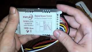 посылка из Китая  173 - Беспроводной переключатель устройств (Wireless remote switch)
