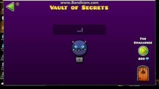 Download lagu GEOMETRY DASH 2 1 VAULT OF SECRETS ALL CODES MP3