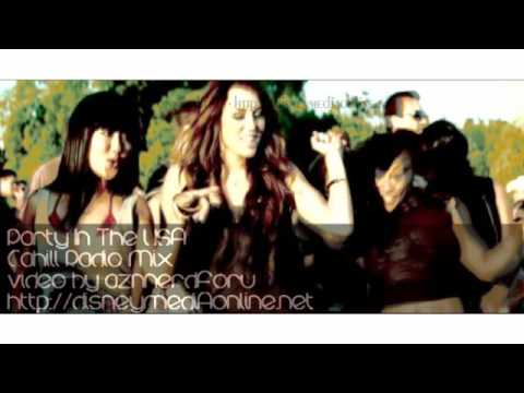 Party In The Usa Remix Miley Cyrus Official Music Video Cahill Radio Mix Exclusive Hd Youtube