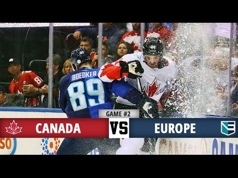 Canada vs Europe | World Cup of Hockey Final | Game #2 Highlights & Marchand Goal! (29/9/16)