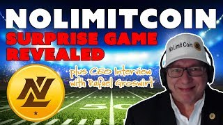 NoLimitCoin Surprise Game Revealed!!! plus CEO Interview with Rafael Groswirt